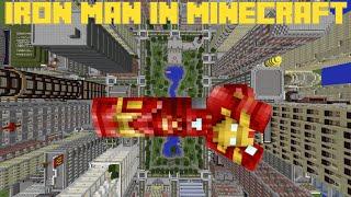 Minecraft Pc: Command Block Iron Man Suit - One Command Block