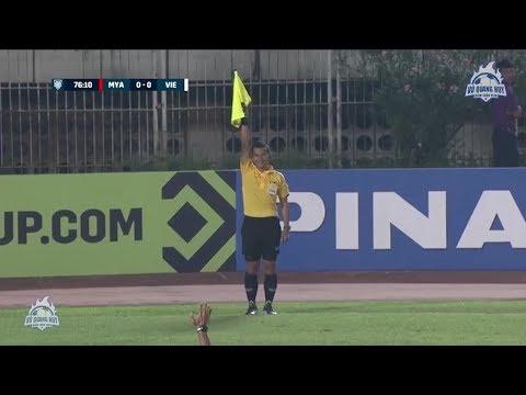 Hightlights | Myanmar 0 - 0 Việt Nam | Trận đấu ức chế nhất vòng bảng AFF Cup 2018 | BLV Quang Huy - Thời lượng: 2 phút, 11 giây.