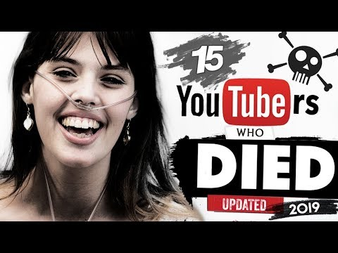 15 Youtubers Who Passed Away In 2018