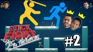 Luchas de Palos | Stick Fight 2 | Juegos Karim Juega