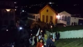 Chegada da Procissão de Nossa Senhora do Carmo em Ouro Preto MG