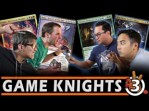 Commander Gameplay! Yidris, Silas Renn, Titania, & Oona EDH l Game Knights #3 Magic: the Gathering