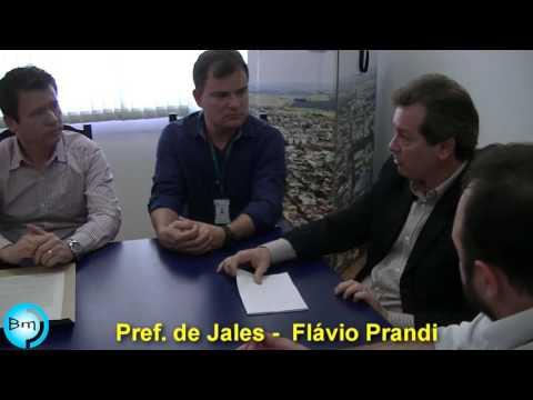 Prefeito Flá, assina acordo de Cooperação Técnica do Município de Jales com o Instituto Federal de Educação, Ciência e Tecnologia de São Paulo/IFSP