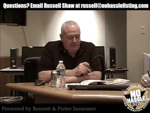 Russell Shaw's Realtor Success Seminar: The Emotional Tone Scale