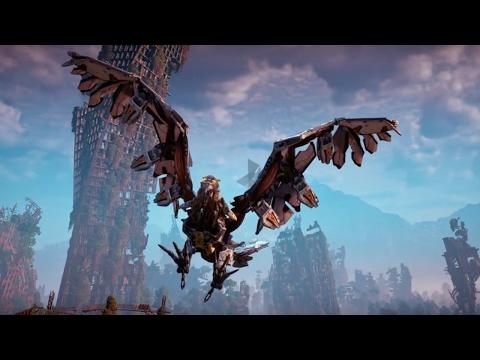 Horizon: Zero Dawn Official The Machines: Stormbird Trailer
