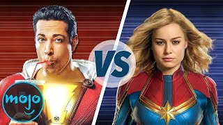 Video Shazam VS Captain Marvel MP3, 3GP, MP4, WEBM, AVI, FLV Maret 2019