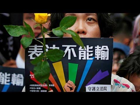 Ταϊβάν: H πρώτη χώρα της Ασίας που νομιμοποιεί τον γάμο των ομοφυλοφίλων…