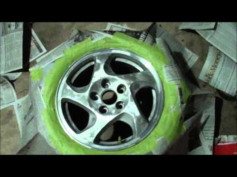PRELUDE - HONDA 2001 PAINT YOUR RIMS DiY.wmv