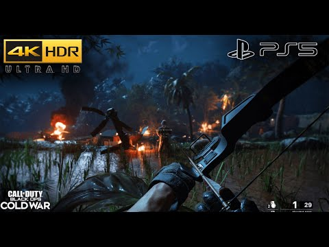 Call of Duty: Black Ops Cold War (PS5) 4K HDR Gameplay - 2160p (UHD)