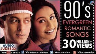 Video 90's Evergreen Romantic Songs | Most Romantic Hindi Songs | Audio Jukebox | Hindi Love Songs MP3, 3GP, MP4, WEBM, AVI, FLV April 2018