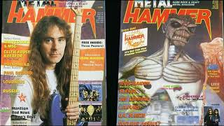 Iron Maiden 1987-1988 Metal Hammer Magazines. Please Like, Share, And Subscribe. Thank You.