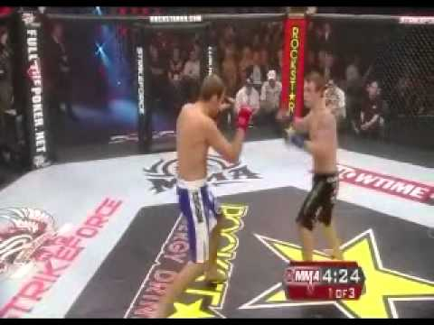 Ryan Couture vs Lucas Stark at Strikeforce Challengers 10 August 14 2010
