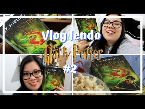 VLOG lendo Harry Potter #2