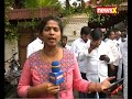 Crowd outside Dinakaran's residence speaks on RK Nagar by poll - Video