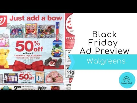 Walgreens Black Friday Full Ad Preview 2018