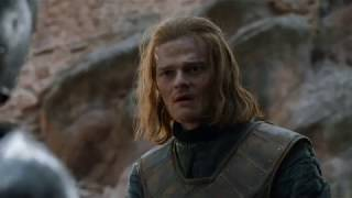 Season 6, Episode 3.Retrospection: Young Eddard Stark and his companions foghts two knights of the King's Guard. Ned and Howland Reed kills Sir Arthur Dayne.Contains spoilers.Owned by HBO.