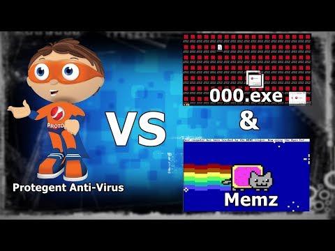 Protegent VS 000.exe & Memz {A V Test #11}