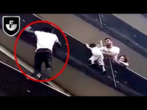7 Real Life Heroes Caught On Camera