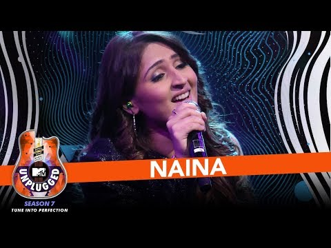 Naina | MTV Unplugged Season 7 | Dhvani Bhanushali | Amaal Mallik | T-Series