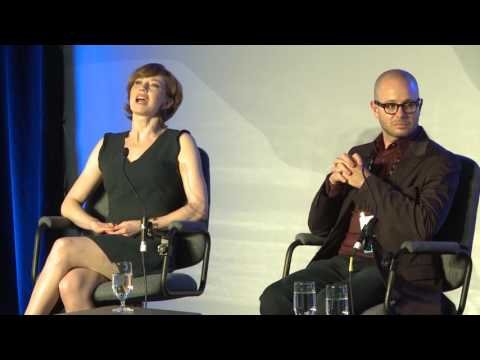 """The Leftovers"" Master Class with Damon Lindelof and Carrie Coon"