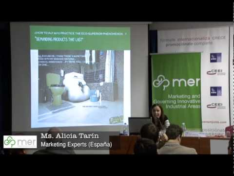 Alicia Tarín, Marketing Experts (España) - Workshop Valencia MER Project