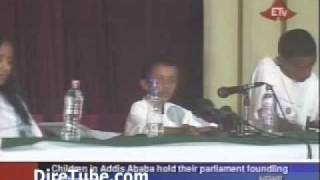 Ethiopian News In English - Children In Addis Ababa Hold Their Parliament Founding Conference