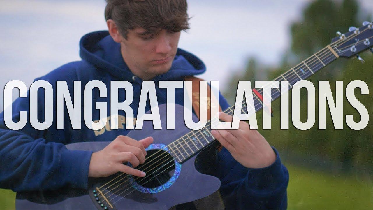 Congratulations – Post Malone – Fingerstyle Guitar Cover