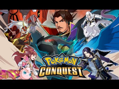 pokemon conquest patched