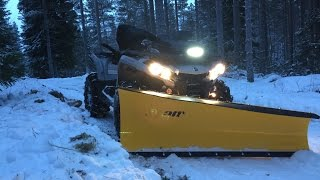 10. ATV Snow Plowing | Can-am Outlander