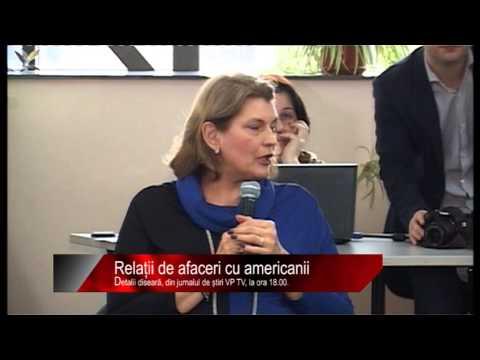 Diseară la știri VP TV: Relații de afaceri cu americanii