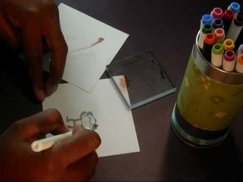 Using a Blender Pen