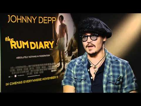 Johnny Depp wants Ricky Gervais to host Golden Globes 2012 Video