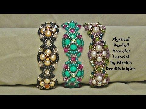 Mystical Beaded Bracelet Tutorial