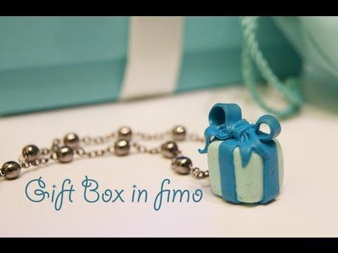 fimo - pacchetto regalo tiffany