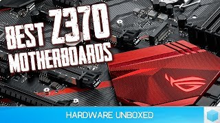 Top 5 Best Z370 Motherboards for Intel's Coffee Lake CPUs