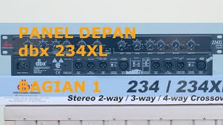 Video Belajar Crossover dbx 234XL Front Panel (Bagian1) MP3, 3GP, MP4, WEBM, AVI, FLV September 2018