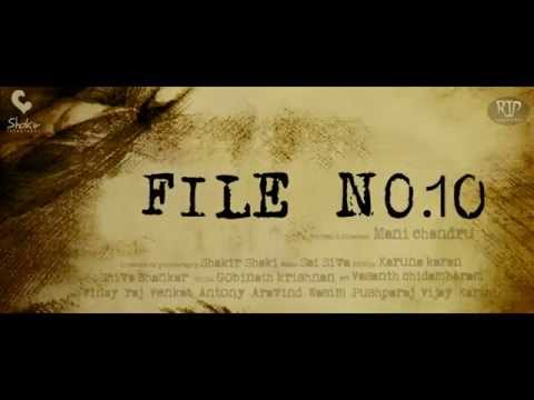 FILE No.10 tamil short film teaser short film
