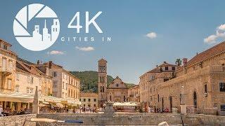 Hvar Croatia  city photos : Hvar in 4K