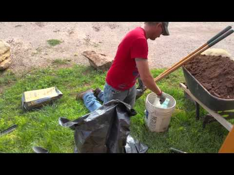 Easiest, Cheapest, Quickest way to mix Cement