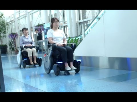 Autonomous wheelchairs for use in airports