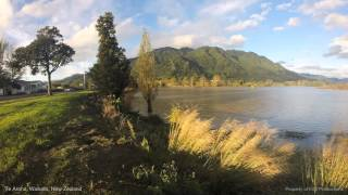 Te Aroha New Zealand  City pictures : Te Aroha, Waikato, New Zealand (1 min time lapse)