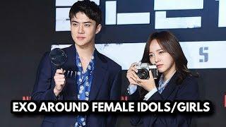 Video EXO AROUND FEMALE IDOLS/GIRLS MP3, 3GP, MP4, WEBM, AVI, FLV September 2019