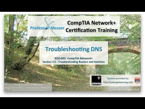 how to troubleshoot dns server