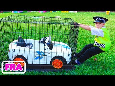 Vlad joue au Policier et perd sa voiture