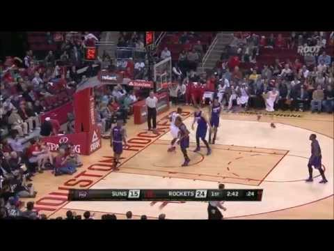 Joey Dorsey throws down a pair of slams vs. Suns