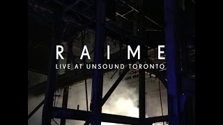 First live performance of Tooth at the Hearn Powerstation for Unsound Festival, Toronto, Canada on 10.06.2016Recorded by NTS:  http://www.nts.live/shows/unsound-toronto-2016/episodes/raime-live-from-unsound-toronto-10th-june-2016 Guitar - Tom HalsteadDrums - Valentina MagalettiElectronics - Joe AndrewsLive bookings: john.qujunktions@gmail.com