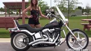 1. Used 2009 Harley Davidson Softail Custom Motorcycles for sale Crestview FL