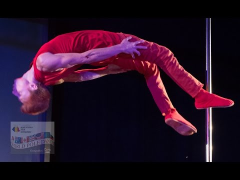 Dimitry Politov - 2nd Placed Runner Up - World Pole Dance Championships 2016