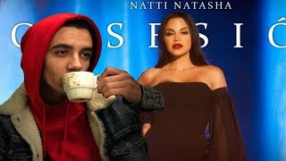 (REACCIÓN) Natti Natasha - Obsesión [Official Video]