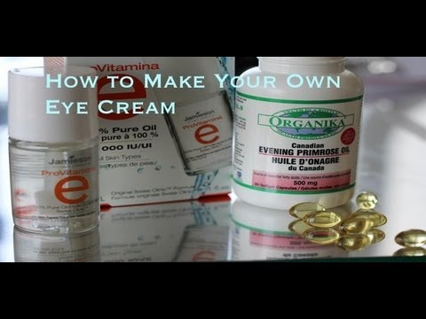 DIY Eye Cream – How to Get Rid of Wrinkles, Fine Lines, and Dark Circles Under Eyes